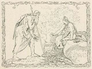 Odin & Völven, Lorenz Frølich